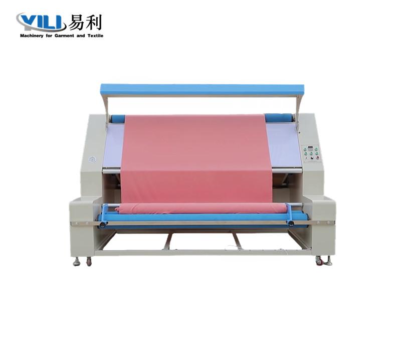 小型布料预缩定型机(配验布区)